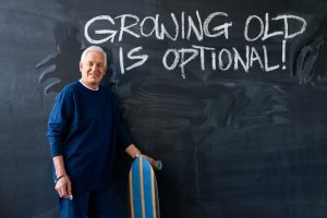 getting old is optional
